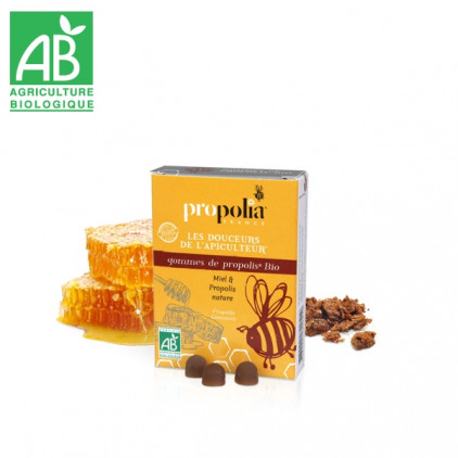 ORGANIC PROPOLIS GUM WITH HONEY