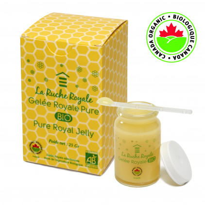 ORGANIC PURE ROYAL JELLY